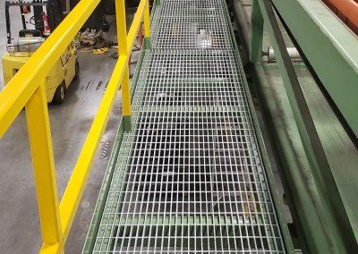 Process Line Maintenance Platform 60ft