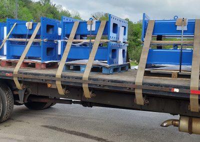 Spacer Block Weldments Delivery